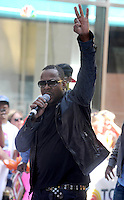 Bobby Brown performs on Today Show - New York