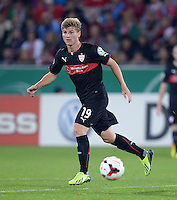 FUSSBALL   DFB POKAL 2. RUNDE   SAISON 2013/2014 SC Freiburg - VfB Stuttgart      25.09.2013 Timo Werner (VfB Stuttgart) mit Ball
