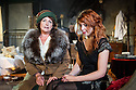 "London, UK. 05.09.2012. I AM A CAMERA, by John Van Druten, opens at Southwark Playhouse. Based on Christopher Isherwood's memoirs ""Goodbye to Berlin"" and the inspiration for the musical Cabaret. Photo shows: Sherry Baines (Mrs Watson-Courtneidge) and Rebecca Humphries (Sally Bowles). Photo credit: Jane Hobson"