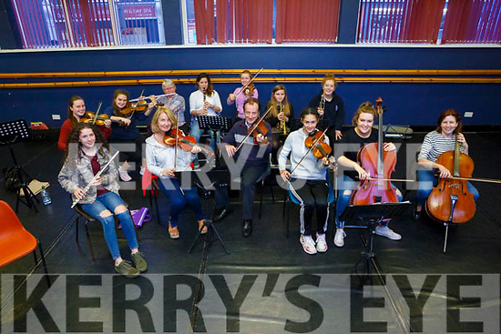 Members of Kerry School of Music senior orchestra  part of Culture Night on Friday