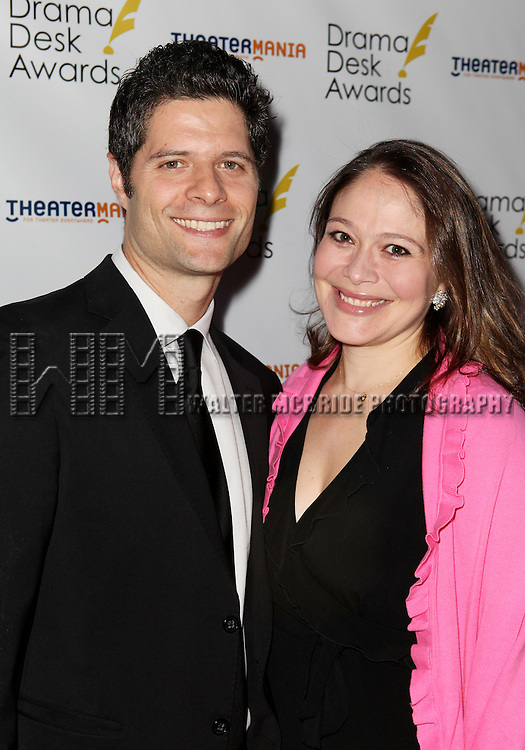 Tom Kitt pictured at the 57th Annual Drama Desk Awards held at the The Town Hall in New York City, NY on June 3, 2012. © Walter McBride