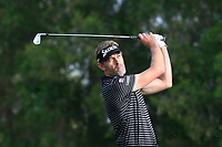 Raphael Jacquelin (FRA) on the 4th tee during Round 1 of the Omega Dubai Desert Classic, Emirates Golf Club, Dubai,  United Arab Emirates. 24/01/2019<br /> Picture: Golffile | Thos Caffrey<br /> <br /> <br /> All photo usage must carry mandatory copyright credit (&copy; Golffile | Thos Caffrey)