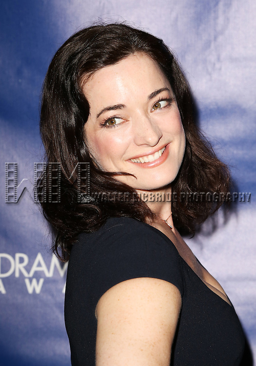 Laura Michelle Kelly attends the 2015 Drama Desk Awards at Town Hall on May 31, 2015 in New York City.