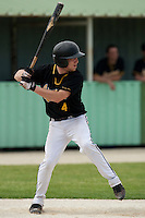 21 May 2009: Stevie Barett of Clermont-Ferrand is seen at bat during the 2009 challenge de France, a tournament with the best French baseball teams - all eight elite league clubs - to determine a spot in the European Cup next year, at Montpellier, France.