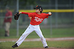 Jackson Newman pitches in the Germantown Baseball League all star game at Cameron Brown Park in Germantown, Tenn. on Wednesday, June 3, 2015. The Red team won 4-2.