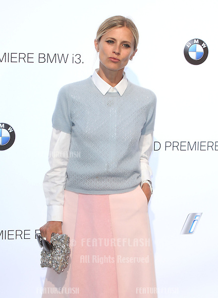 Laura Bailey arriving for the BMW i3 Launch Party, at Old Billingsgate, London. 29/07/2013 Picture by: Alexandra Glen / Featureflash