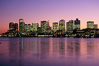 Harbor skyline from East Boston, MA