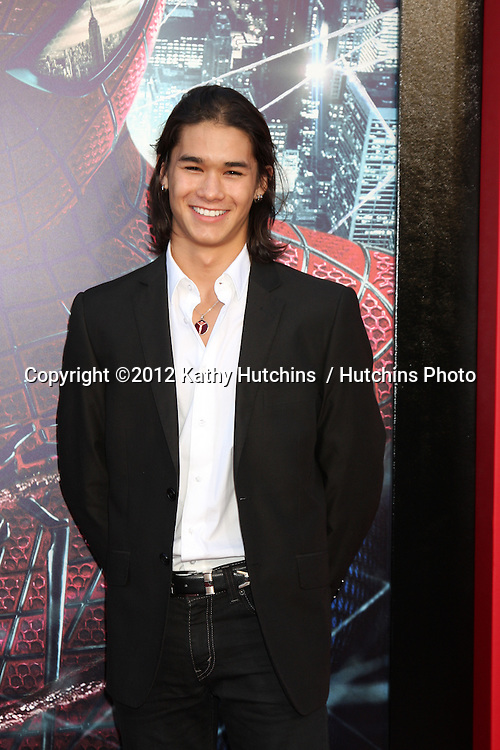 "LOS ANGELES - JUN 28:  Booboo Stewart arrives at the ""The Amazing Spider-Man"" Premiere at Village Theater on June 28, 2012 in Westwood, CA"