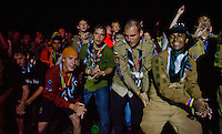 Scouts dancing together!  Photo: Malin Duveblad/Scouterna