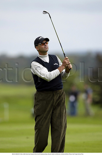 ROCCO MEDIATE (USA), 2002 American Express World Golf Championships, Mount Juliet, Co Kilkenny, Ireland, 020922. Photo: Neil Tingle/Action Plus...golf golfer player............................. ........................