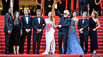 28.05.2017; Cannes, France: JESSICA CHASTAIN, WILL SMITH, FAN BINGBING AND PEDRO AMODOVAR<br /> attend the closing ceremony for the 70th Cannes Film Festival, Cannes<br /> Mandatory Credit Photo: &copy;NEWSPIX INTERNATIONAL<br /> <br /> IMMEDIATE CONFIRMATION OF USAGE REQUIRED:<br /> Newspix International, 31 Chinnery Hill, Bishop's Stortford, ENGLAND CM23 3PS<br /> Tel:+441279 324672  ; Fax: +441279656877<br /> Mobile:  07775681153<br /> e-mail: info@newspixinternational.co.uk<br /> Usage Implies Acceptance of Our Terms &amp; Conditions<br /> Please refer to usage terms. All Fees Payable To Newspix International