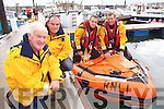 Pictured at the Fenit regatta on Sunday were l-r: Ger O'Donnell (Lifeboat Operations Manager) Kevin Deady (Helmsperson) and Tadgh Sheehy (Crew person on the ILB and Lee ship crew helmsperson).