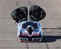Feb 24, 2017; Chandler, AZ, USA; NHRA top sportsman driver Doug Crumlich during qualifying for the Arizona Nationals at Wild Horse Pass Motorsports Park. Mandatory Credit: Mark J. Rebilas-USA TODAY Sports