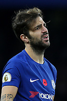 Cesc Fabregas of Chelsea during Chelsea vs Manchester United, Premier League Football at Stamford Bridge on 5th November 2017