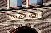 Nederland  Groningen - 2019 . Kantongerecht.    Foto Berlinda van Dam / Hollandse Hoogte