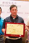 Robbie Fowler during the Football Players Press Conference on the sidelines of the World Celebrity Pro-Am 2016 Mission Hills China Golf Tournament on 22 October 2016, in Haikou, China. Photo by Marcio Machado / Power Sport Images