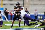 Washington Huskies in action during the Zaxby's Heart of Dallas Bowl game between the Washington Huskies and the Southern Miss Golden Eagles at the Cotton Bowl Stadium in Dallas, Texas.
