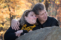 Pam & James's engagement session at South Park iin Pittsburgh, PA on October 19, 2014.