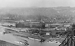 Pittsburgh PA - View of the city and the point buildings from Mount Washington - 1905.