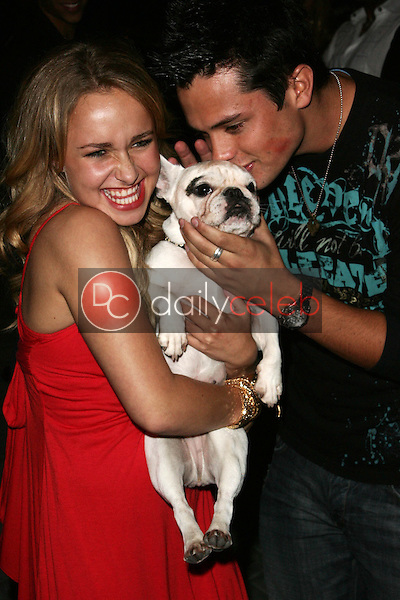 Hayden Panettiere and friend<br />