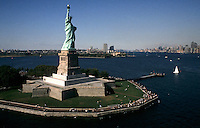 Statue of Liberty monument,New York City, USA