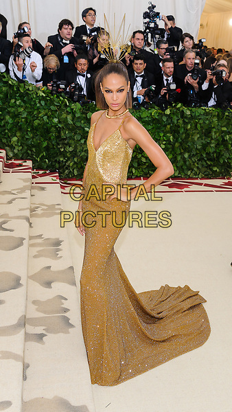07 May 2018 - New York, New York - Jasmine Tookes. 2018 Metropolitan Museum of Art Costume Institute Gala: &quot;Heavenly Bodies: Fashion and the Catholic Imagination. <br /> CAP/ADM/CS<br /> &copy;CS/ADM/Capital Pictures