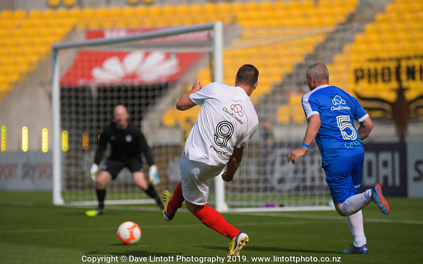 Revera sponsors festival match between CCL United and Government United at Westpac Stadium in Wellington, New Zealand on Saturday, 23 November 2019. Photo: Dave Lintott / lintottphoto.co.nz