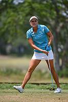 Lexi Thompson (USA) watches her tee shot on 5 during round 4 of the 2019 US Women's Open, Charleston Country Club, Charleston, South Carolina,  USA. 6/2/2019.<br /> Picture: Golffile | Ken Murray<br /> <br /> All photo usage must carry mandatory copyright credit (© Golffile | Ken Murray)