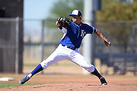 Kansas City Royals pitcher Dylan Sons (30) during an Instructional League game against the Cincinnati Reds on October 14, 2014 at Goodyear Training Facility in Goodyear, Arizona.  (Mike Janes/Four Seam Images)