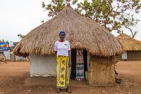 Südsudanesische Flüchtlinge im BidiBidi Camp Uganda. Über eine Million Südsudanesen sind nach Uganda geflüchtet.