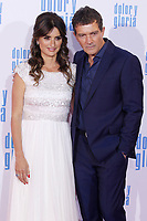 MADRID, SPAIN - March 13: Penelope Cruz and Antonio Banderas at the premiere on Dolor y Gloria at the Capitol theater in Madrid, Spain on March13, 2019.  ***NO SPAIN***<br /> CAP/MPI/RJO<br /> &copy;RJO/MPI/Capital Pictures