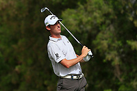 Renato Paratore (ITA) on the 4th tee during Round 1 of the Omega Dubai Desert Classic, Emirates Golf Club, Dubai,  United Arab Emirates. 24/01/2019<br /> Picture: Golffile | Thos Caffrey<br /> <br /> <br /> All photo usage must carry mandatory copyright credit (&copy; Golffile | Thos Caffrey)