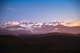 NEW ZEALAND, Okarito, Mount Tasman and Mount Cook From the Okarito Trig Overlook, Ben M Thomas