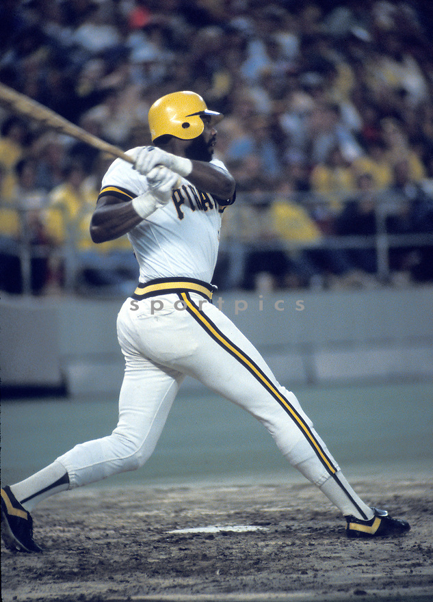 Pittsburgh Pirates Dave Parker (39) during a game from the 1980 season at Three Rivers Stadium in Pittsburgh, Pennsylvania. Dave Parker played for 19 years with 6 different teams, was a 7-time All-Star and was the 1978 National League MVP.(AP Photo/David Durochik)