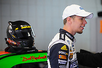 Oct. 15, 2009; Concord, NC, USA; NASCAR Sprint Cup Series driver Brad Keselowski during practice for the Banking 500 at Lowes Motor Speedway. Mandatory Credit: Mark J. Rebilas-