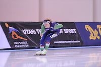 SPEED SKATING: SALT LAKE CITY: 19-11-2015, Utah Olympic Oval, ISU World Cup, training, Sanneke de Neeling (NED), ©foto Martin de Jong