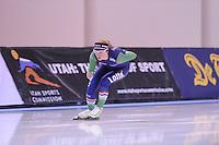 SPEED SKATING: SALT LAKE CITY: 19-11-2015, Utah Olympic Oval, ISU World Cup, training, Sanneke de Neeling (NED), ©foto Martin de Jong