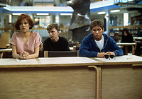 The Breakfast Club (1985) <br /> Anthony Michael Hall, Emilio Estevez &amp; Molly Ringwald<br /> *Filmstill - Editorial Use Only*<br /> CAP/KFS<br /> Image supplied by Capital Pictures