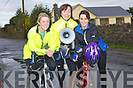 PREPARING: Deirdre Galvin, Martina Hanafin and Therese gettint it togethet for the Jim Duffy,Blennerville Memorial Cycle at Blennerville on Saturday morning.