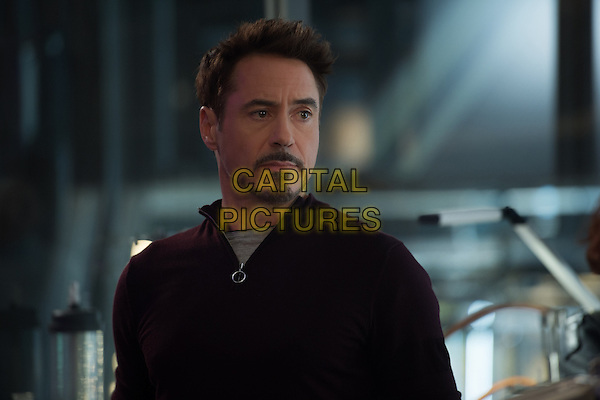 Robert Downey Jr.<br /> in Avengers: Age of Ultron (2015) <br /> *Filmstill - Editorial Use Only*<br /> CAP/NFS<br /> Image supplied by Capital Pictures