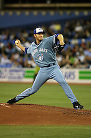 May 23rd 2008:  Pitcher Roy Halladay (32) of the Toronto Blue Jays during a game at the Rogers Centre in Toronto, Ontario, Canada .  Photo by:  Mike Janes/Four Seam Images