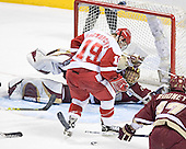 (Cory Schneider) Ryan MacMurchy - The University of Wisconsin Badgers defeated the Boston College Eagles 2-1 on Saturday, April 8, 2006, at the Bradley Center in Milwaukee, Wisconsin in the 2006 Frozen Four Final to take the national Title.