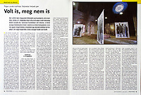 Magyar Narancs (Hungarian weekly magazine) on holocaust remembrance in Hungary, 01.2018.<br />