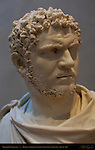 Bust of Caracalla 18th c Copy of Farnese Bust Bartolommeo Cavaceppi