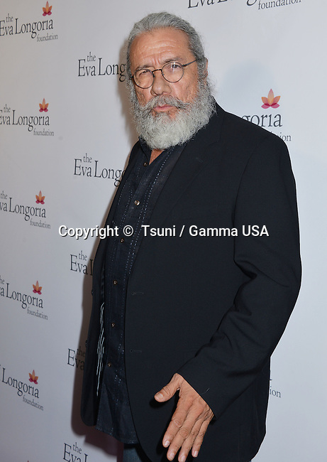 Edward James Olmos  at Eva Longoria Foundation at Beso restaurant inLos Angeles.