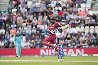 Nicholas Pooran (West Indies) gets the faintest of touches and is caught behind by Jos Buttler (England) off Jofra Archer (England) during England vs West Indies, ICC World Cup Cricket at the Hampshire Bowl on 14th June 2019