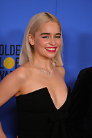 Emilia Clarke at the 75th Annual Golden Globe Awards at the Beverly Hilton Hotel, Beverly Hills, USA 07 Jan. 2018<br /> Picture: Paul Smith/Featureflash/SilverHub 0208 004 5359 sales@silverhubmedia.com