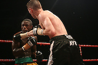 Dave Stewart beats Joshua Allotey on points, at the Nottingham Ice Arena 24/11/06 - promoted by Hennessy Sports MANDATORY CREDIT: chris royle