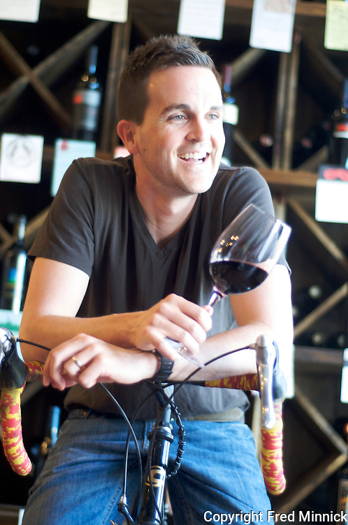 Alex Tinker owns 4 Flights Wine Botique in Norton Commons, a neighborhood in Louisville, Kentucky.