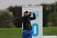 Carlos Pigem (ESP) on the 10th tee during Round 4 of the Challenge Tour Grand Final 2019 at Club de Golf Alcanada, Port d'Alcúdia, Mallorca, Spain on Sunday 10th November 2019.<br /> Picture:  Thos Caffrey / Golffile<br /> <br /> All photo usage must carry mandatory copyright credit (© Golffile | Thos Caffrey)
